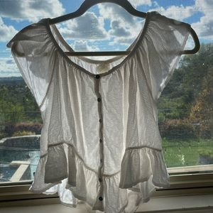 Free People White Top!